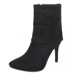 Črni škornji 929
