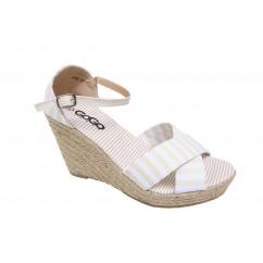 Rumeni sandali s polno peto P75